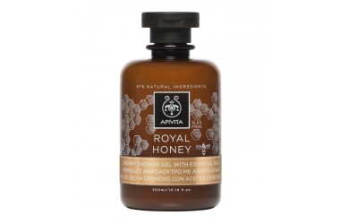 Royal honey kremasti gel za tuširanje s esencijalnim uljima, 300ml