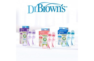 Dr. Brown's Options paket sa 2  polipropilenske bočice 250 ml