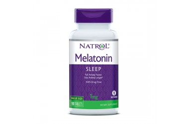 Melatonin Time Release (tablete sa vremenskim otpuštanjem); 1 mg; 180 tableta