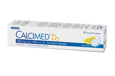 Calcimed D3, 20 tableta