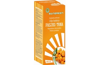 Sangreen ulje bobica pasjeg trna 100 ml